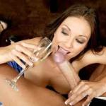 champagne-blowjob
